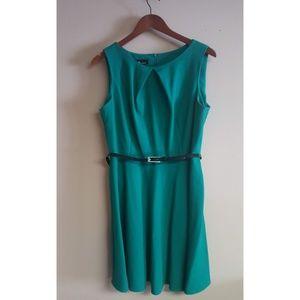 Teal Sleeveless Dress - Size L
